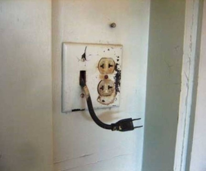 Look, a self-powered outlet!